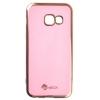 Чехол для смартфона SkinBOX Slim для Samsung Galaxy A3 (2017) A320, пудра, купить за 150руб.