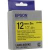 Лента для печати наклеек Epson LK-4YBW, желтая, купить за 995руб.