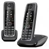 Радиотелефон Dect Gigaset C530 DUO, чёрный, купить за 4 760руб.
