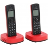 Радиотелефон Panasonic KX-TGC312RUR красный и чёрный, купить за 3 330руб.