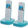 радиотелефон DECT Panasonic KX-TGС312RUR Голубой/Белый