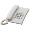 Проводной телефон Panasonic KX-TS2350RUW Белый, купить за 920руб.