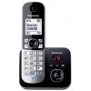 Радиотелефон DECT Panasonic KX-TG6821RUB Черный/Серебристый, купить за 3 210руб.
