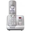 Радиотелефон DECT Panasonic KX-TG6721RUS Серебристый, купить за 3 270руб.