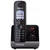 Радиотелефон DECT Panasonic KX-TG8161RUB Черный, купить за 4 320руб.