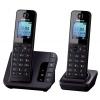 Радиотелефон DECT Panasonic KX-TGH222RUB Черный, купить за 5 280руб.