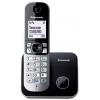 Радиотелефон DECT Panasonic KX-TG6811RUB Чёрный/Серебристый, купить за 2 340руб.