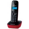Радиотелефон DECT Panasonic KX-TG1611RUR Красный/Черный, купить за 1 630руб.