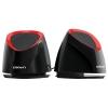 компьютерная акустика CROWN CMS-279, чёрно-красные