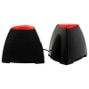 Компьютерная акустика CROWN CMS-278, чёрно-красные, купить за 915руб.
