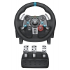 Руль и педали игровые (комплект) Logitech G29 Driving Force (проводной комплект - руль и педали, для ПК, PpalyStation 3 и 4), купить за 25 980руб.