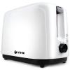 Тостер Vitek VT-1578 BW чёрный/белый, купить за 2 030руб.