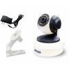 IP-камера видеонаблюдения KGuard QRT-501, Бело-черная, купить за 4 180руб.