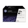 Картридж HP 05A 2-pack Черный, купить за 9380руб.