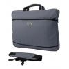 Сумка для ноутбука PC PET PCP-A1117 GY, 17'', серая, купить за 830руб.