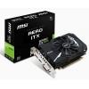 Видеокарта geforce MSI GeForce GTX 1050 Ti 1341Mhz PCI-E 3.0 4096Mb 7008Mhz 128 bit DVI HDMI HDCP AERO ITX OCV1 [GTX 1050 Ti AERO ITX 4G OCV1], купить за 10 660руб.