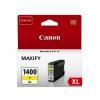 Картридж для принтера CANON PGI-1400XL Y, Желтый, купить за 1410руб.