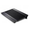 Подставка для ноутбука DEEPCOOL N8 (охлаждающая, 17''), чёрная, купить за 1 695руб.