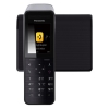 Радиотелефон Panasonic KX-PRW120RUW DECT, черный/белый, купить за 6 790руб.