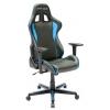 Игровое компьютерное кресло DXRacer Formula OH/FH08/NB, черно-голубое, купить за 23 760руб.
