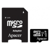 Apacer microSDHC Card Class 10 UHS-I U1 16GB + SD-adapter, купить за 950руб.