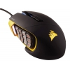 Мышку Corsair Gaming Scimitar PRO RGB, желто-черная, купить за 7430руб.