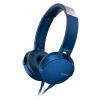 Sony MDR-XB550AP, Синие, купить за 3 960руб.
