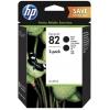 Картридж для принтера HP №82 P2V34A черный, купить за 7995руб.
