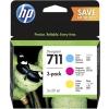 Картридж для принтера HP №711 P2V32A голубой, пурпурный, желтый, купить за 5675руб.