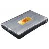 """Корпус для внешнего жесткого диска AgeSTAR SUB2A11 (USB2.0, 2.5"""", SATA), чёрно-серебристый, купить за 395руб."""