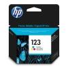 Картридж HP 123 Цветной, купить за 985руб.