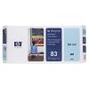 Картридж для принтера HP №83 C4964A, Светло-голубой, купить за 20 160руб.
