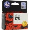 Картридж HP №178 CB317HE, чёрный, купить за 740руб.