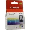 Картридж Canon CL-511, голубой, желтый, пурпурный, купить за 1 450руб.