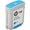 Картридж для принтера HP №728 F9J63A, Голубой, купить за 3815руб.