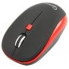 Мышка Gembird MUSW-215R чёрный/красный, купить за 510руб.