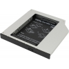 Корпус для внешнего жесткого диска Espada SS12 (2.5''HDD/SATA - SlimDVD/miniSATA), купить за 1 100руб.