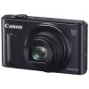Цифровой фотоаппарат Canon PowerShot SX610HS черный, купить за 12 599руб.