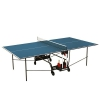 Стол теннисный Donic Indoor Roller 400, синий, купить за 21 990руб.