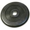 Диск для штанги MB Barbell Atlet (31 мм, 20 кг), Черный, купить за 2 540руб.