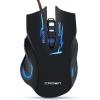 Мышка Crown Gaming CMXG-615 черная, купить за 795руб.