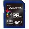Карта памяти ADATA SDXC Memory Card 128GB UHS-I U2, Синяя, купить за 4 180руб.
