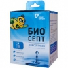 Жидкость для биотуалетов биоактиватор Живые бактерии Биосепт (600 г), купить за 885руб.