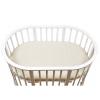 Матрас для детской кроватки Bambola Oval Holo + Kokos (овальный, микрофибра, 125x75x8 см), купить за 1 555руб.