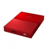 Жесткий диск Western Digital My Passport 1 TB (WDBBEX0010BRD-EEUE), красный, купить за 3900руб.
