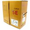 Кабель Telecom  (FTP4-TC1000C5EN-CU-IS), Черный, купить за 5 285руб.