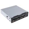 Устройство для чтения карт памяти Ginzzu GR-137U черный, купить за 835руб.