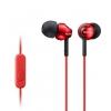 Sony MDR-EX110AP/R, красные, купить за 860руб.