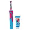 Зубная щетка Braun D14.513K Frozen Kids, Красно-синяя, купить за 3 505руб.