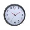 Часы интерьерные Бюрократ WallC-R08P, черные, купить за 795руб.
